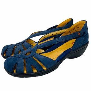 Clark's Navy Blue unstructured Sandals